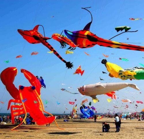Dal 20 aprile, 39^ edizione. Gli aquiloni di tutto il mondo volano insieme sulla spiaggia